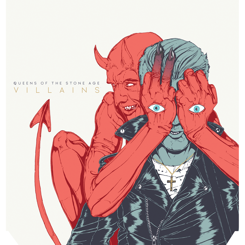 "QUEENS OF THE STONE AGE ""Villains"" CD"