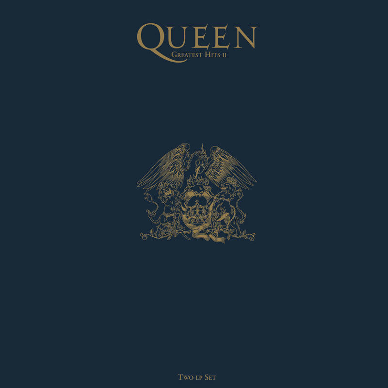 "QUEEN ""Greatest hits II"" DOUBLE VINYL"