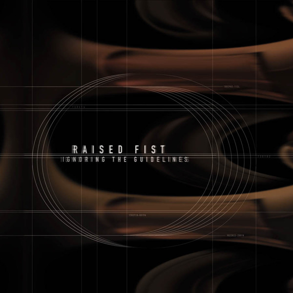 "RAISED FIST ""Ignoring the guidelines"" CD"