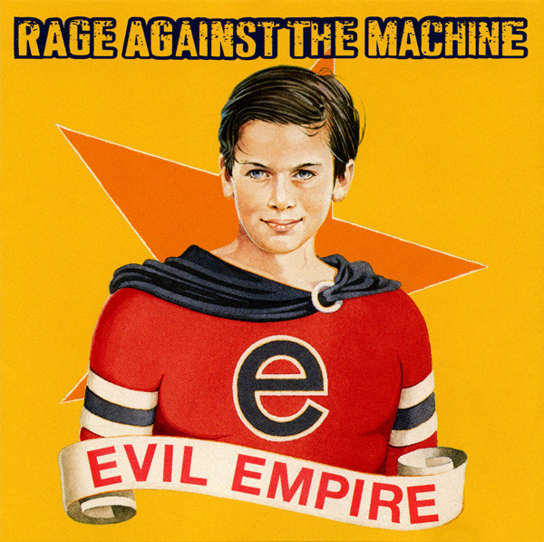 "RAGE AGAINST THE MACHINE ""Evil empire"" VINYL"