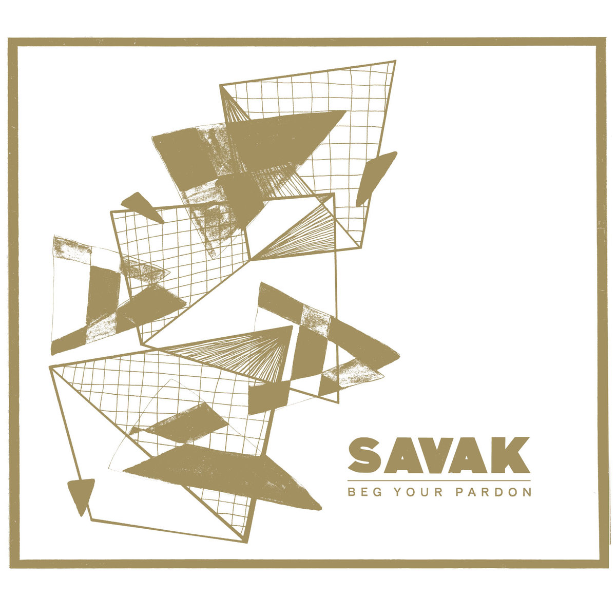 "SAVAK ""Beg your pardon"" VINYL"