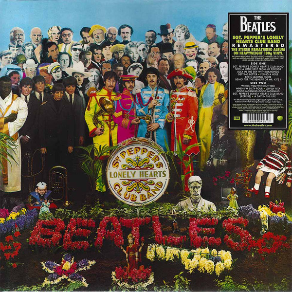"BEATLES ""Sgt Pepper's lonely heart club band"" VINYL"