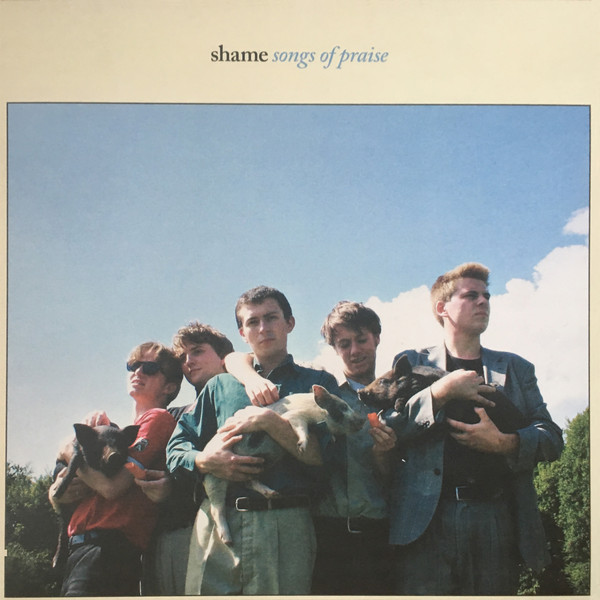 "SHAME ""Songs of praise"" LP"