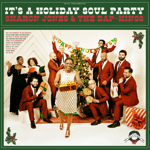 "SHARON JONES & THE DAP-KINGS ""It's holiday soul party"" LP"