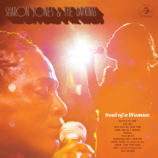 "SHARON JONES & THE DAP-KINGS ""Soul of a woman"" VINYL"