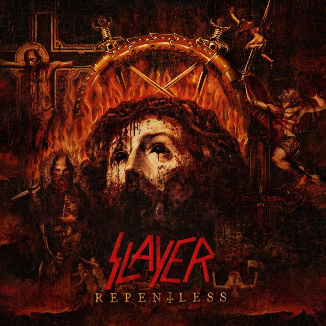 "SLAYER ""Repentless"" CD"