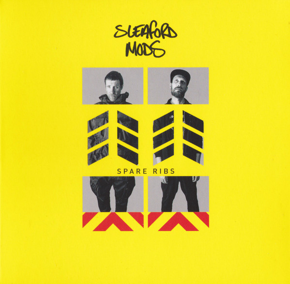 "SLEAFORD MODS ""Spare ribs"" CD"