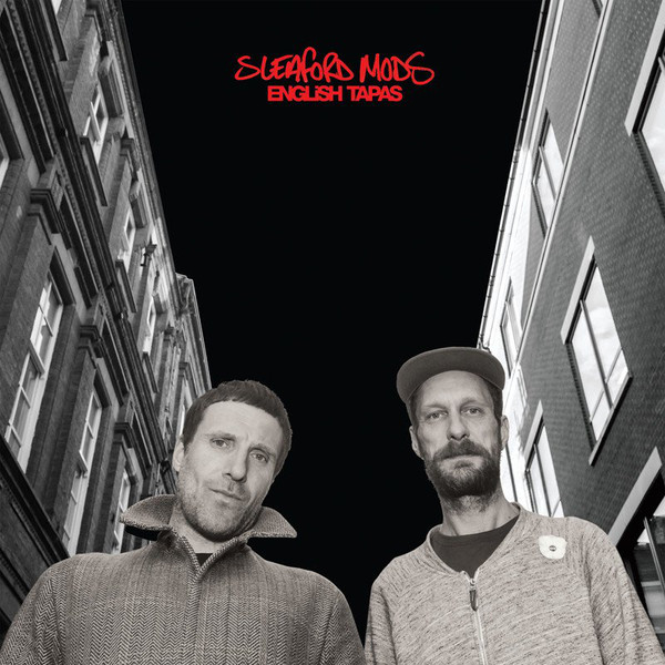 "SLEAFORD MODS ""English tapas"" CD"