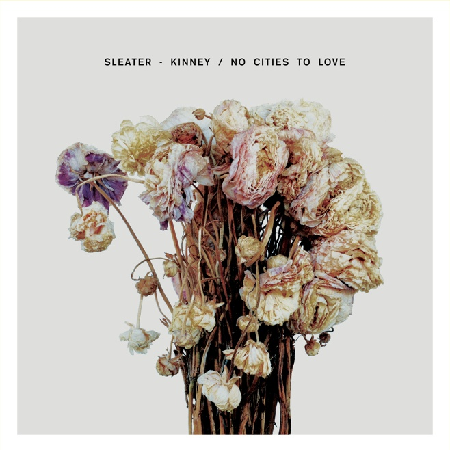 "SLEATER KINNEY ""No cities to love"" CD"