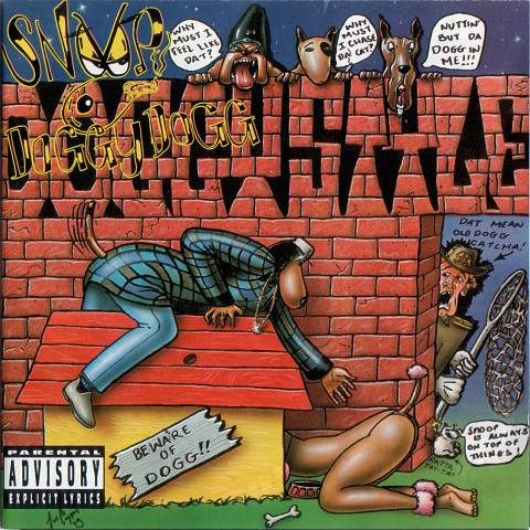 "SNOOP DOGGY DOGG ""Doggystyle"" VINYL"