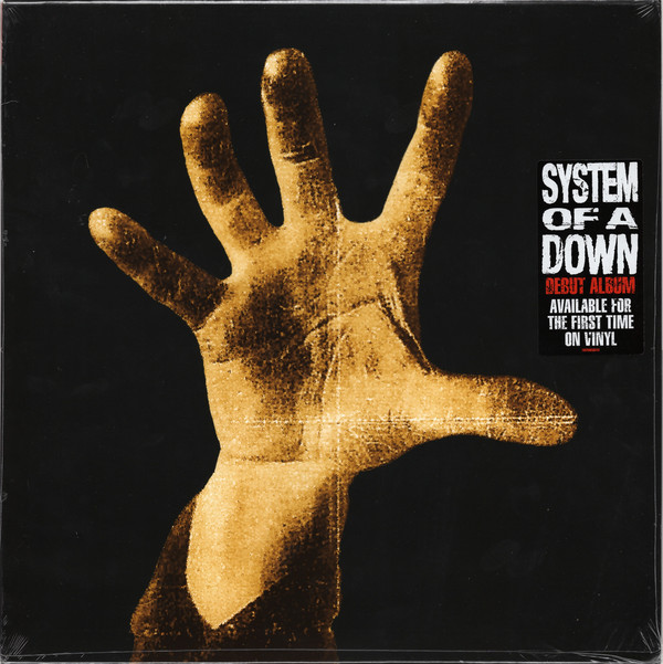 "SYSTEM OF A DOWN ""S/t"" VINYL"