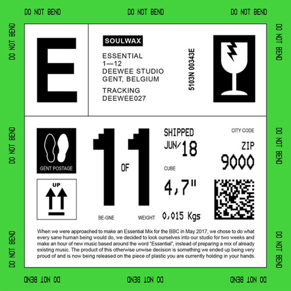 "SOULWAX ""Essential"" CD"