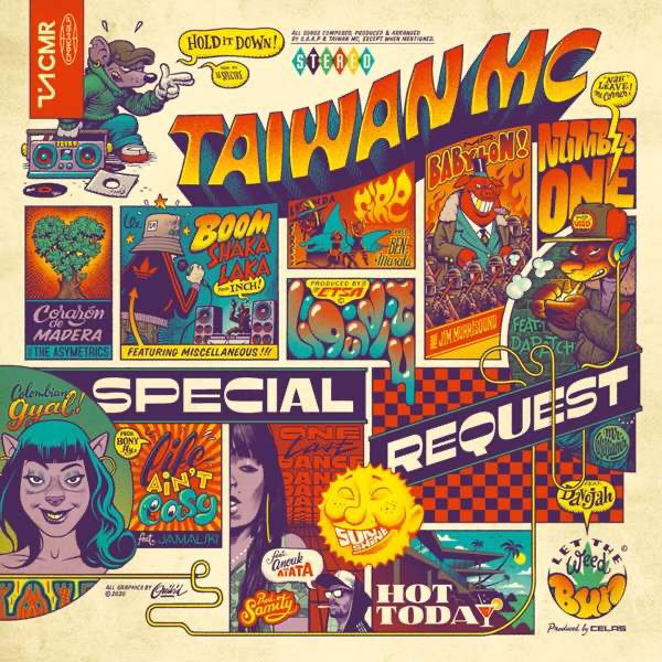 "TAIWAN MC ""Special request"" CD"
