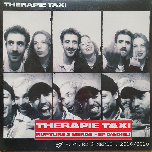 "THERAPIE TAXI ""Rupture 2 merde"" CD"