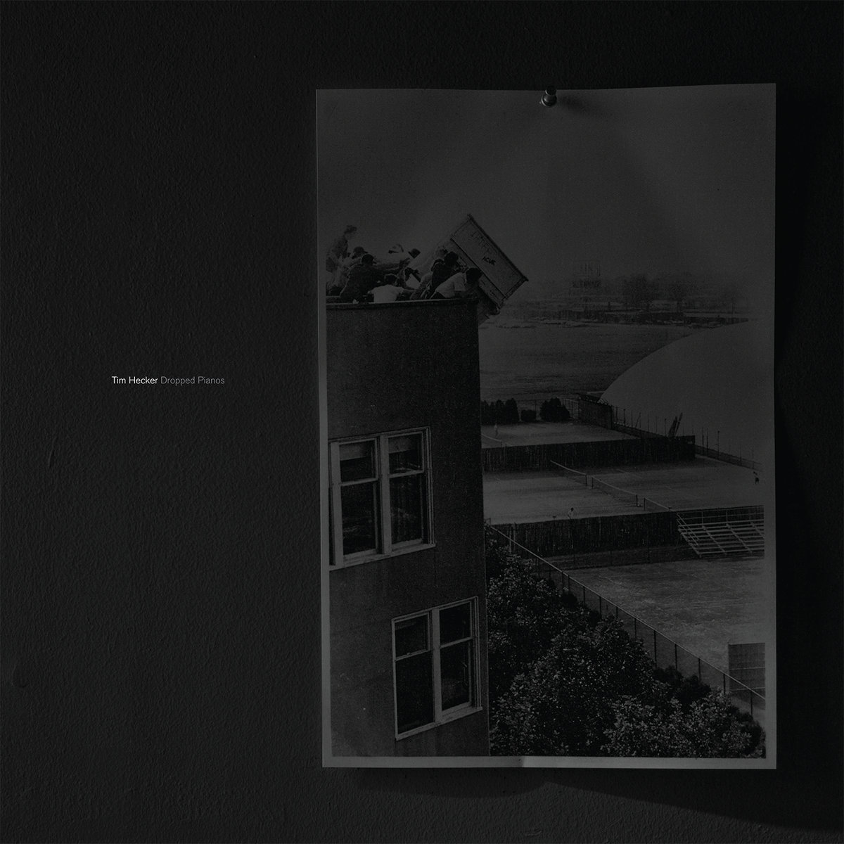 "TIM HECKER ""Dropped pianos"" VINYL"