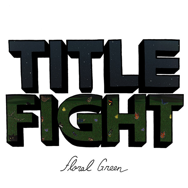 "TITLE FIGHT ""Floral green"" VINYL"