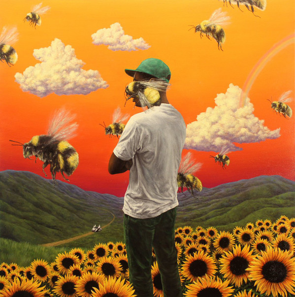 "TYLER THE CREATOR ""Scum fuck flower boy"" DOUBLE VINYL"