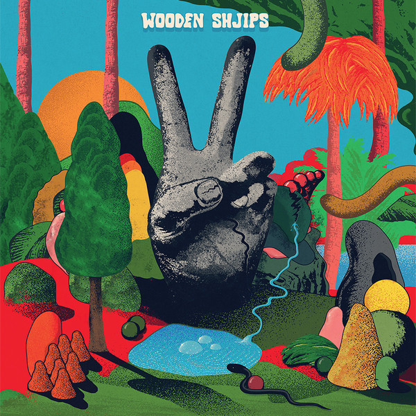 "WOODEN SHJIPS ""V"" CD"