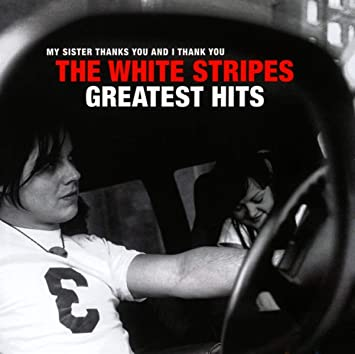 "THE WHITE STRIPES ""Greatest hits"" CD"
