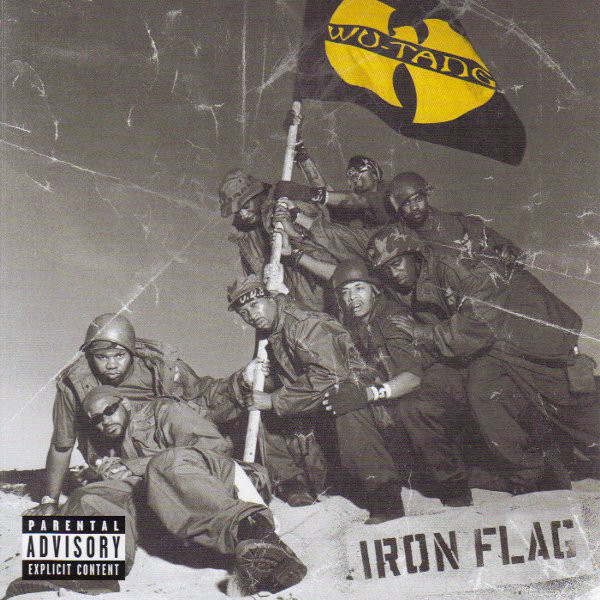 "WU-TANG CLAN ""Iron flag"" 2LP"